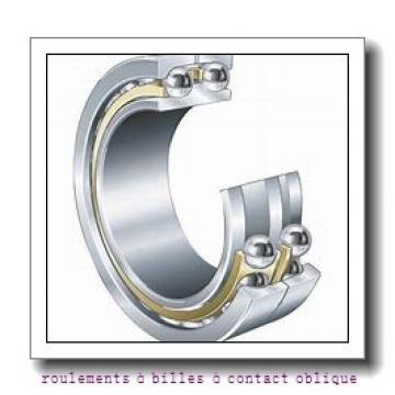 ISO 3307 roulements à billes à contact oblique