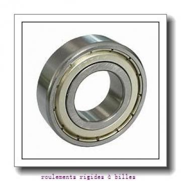 ISO F606-2RS roulements rigides à billes